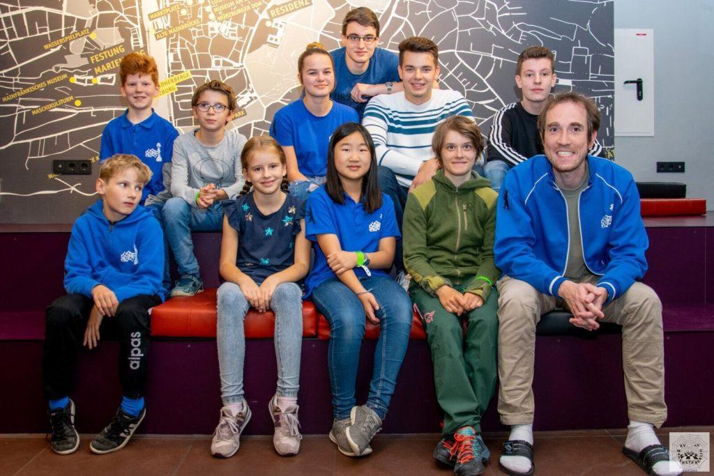 Berliner Mannschaft bei der DLM 2019