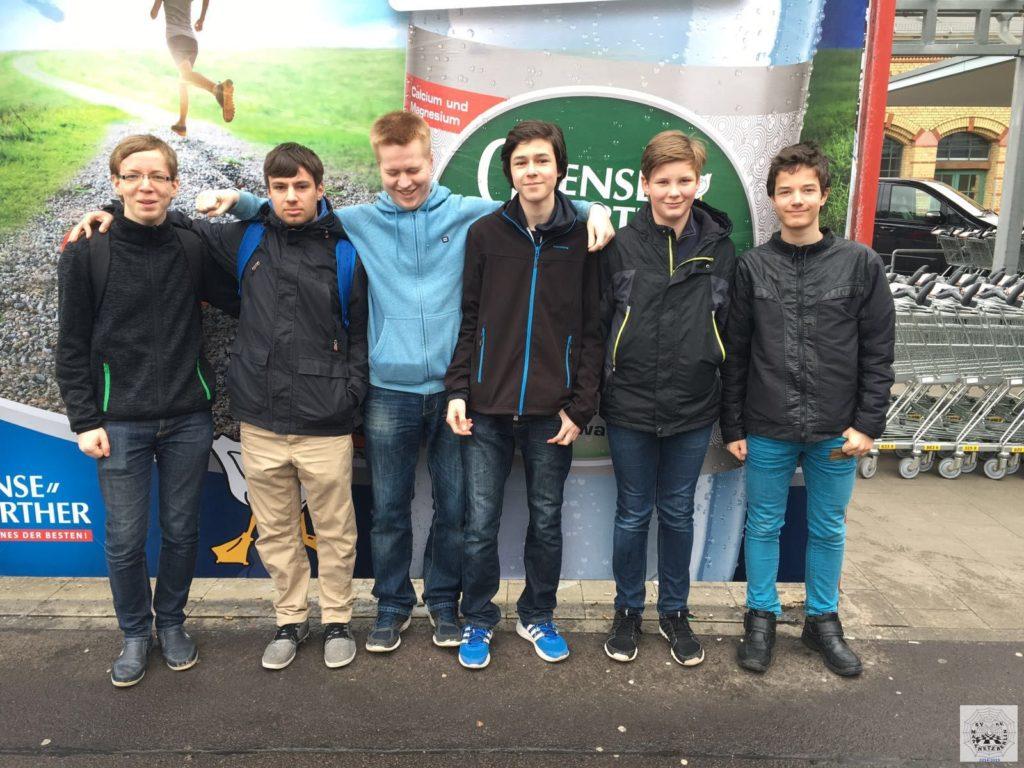 Jugendbundesliga 2015/16 in Magdeburg bei AE