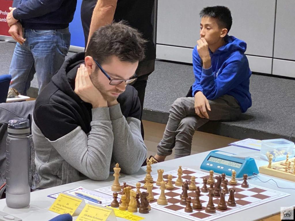 Georg spielt in Runde 3 gegen Mirko Eichstaedt (USV Potsdam)