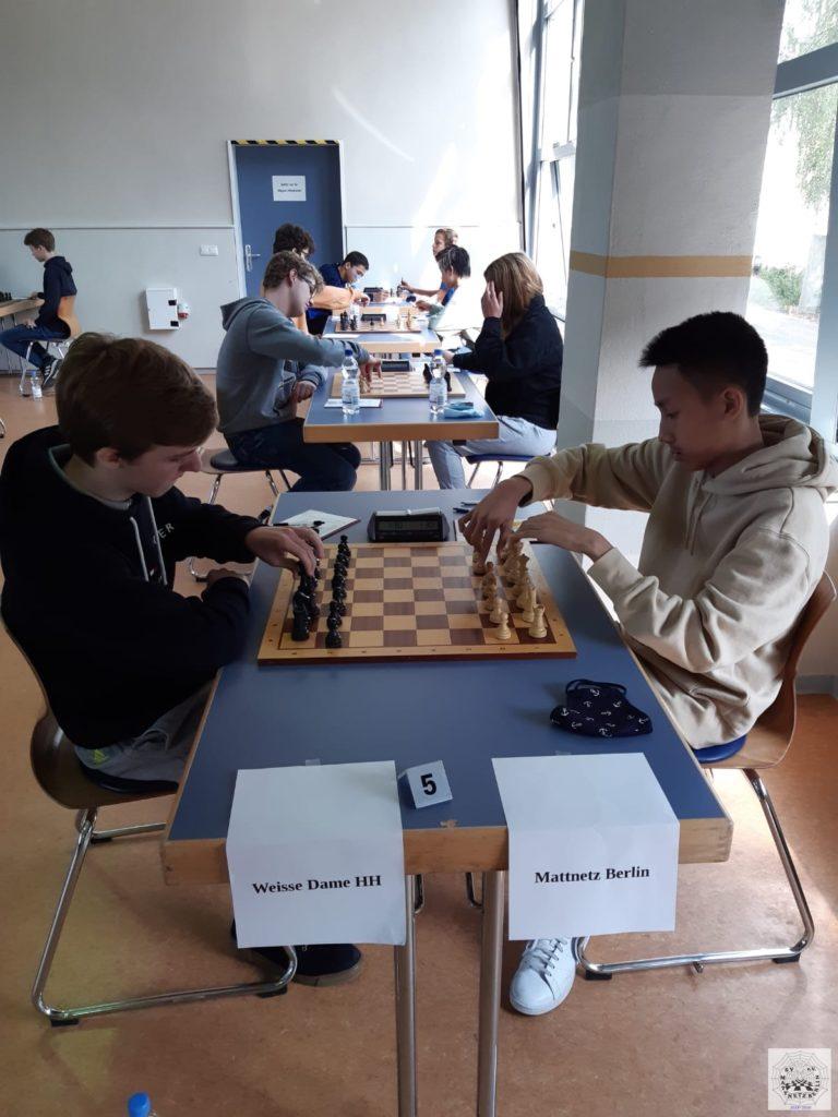 Runde 4 der NVM u16 Greifswald 2020 - Weisse Dame Hamburg - SV Mattnetz