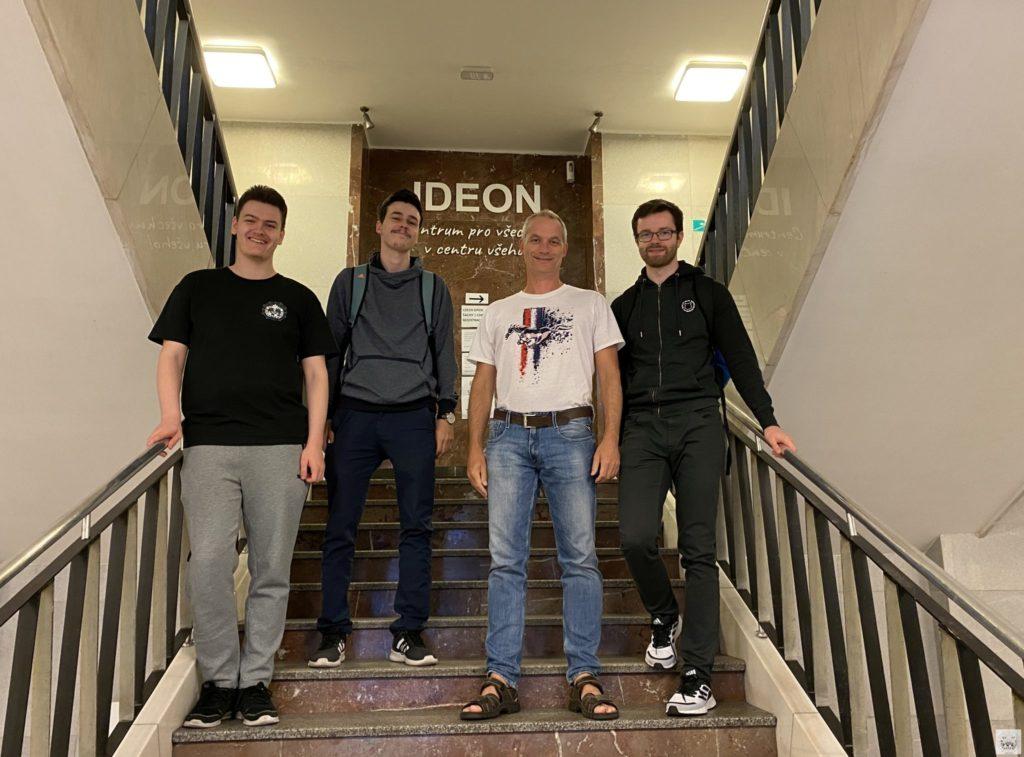 Team Mattnetz vor der 7. Runde in Pardubice vom Czech Open 2021.